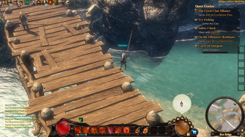 Рыбалка Guardians of Ember