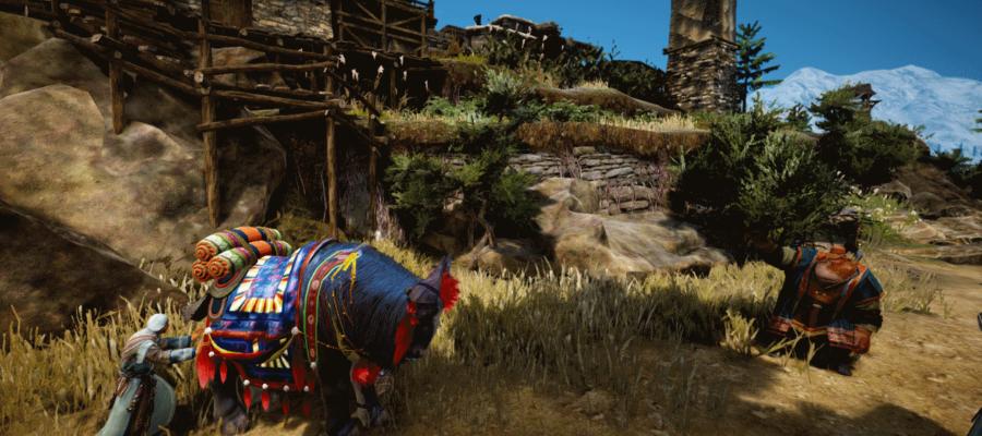 Лошади БДО