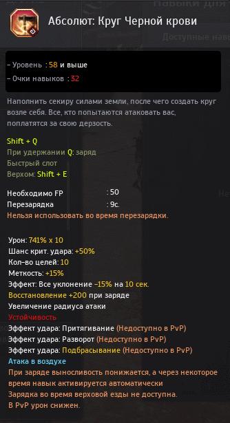 БДО Страж Круг Черной крови