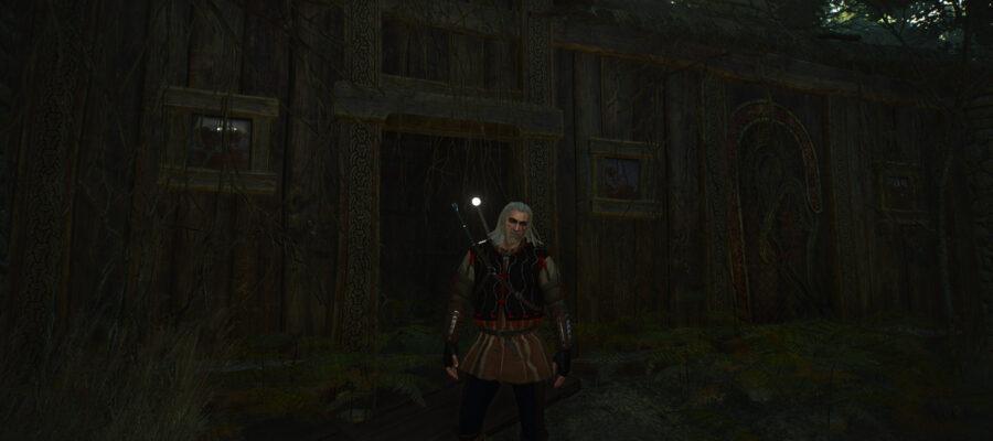 Ведьмак 3 Заброшенная лесопилка