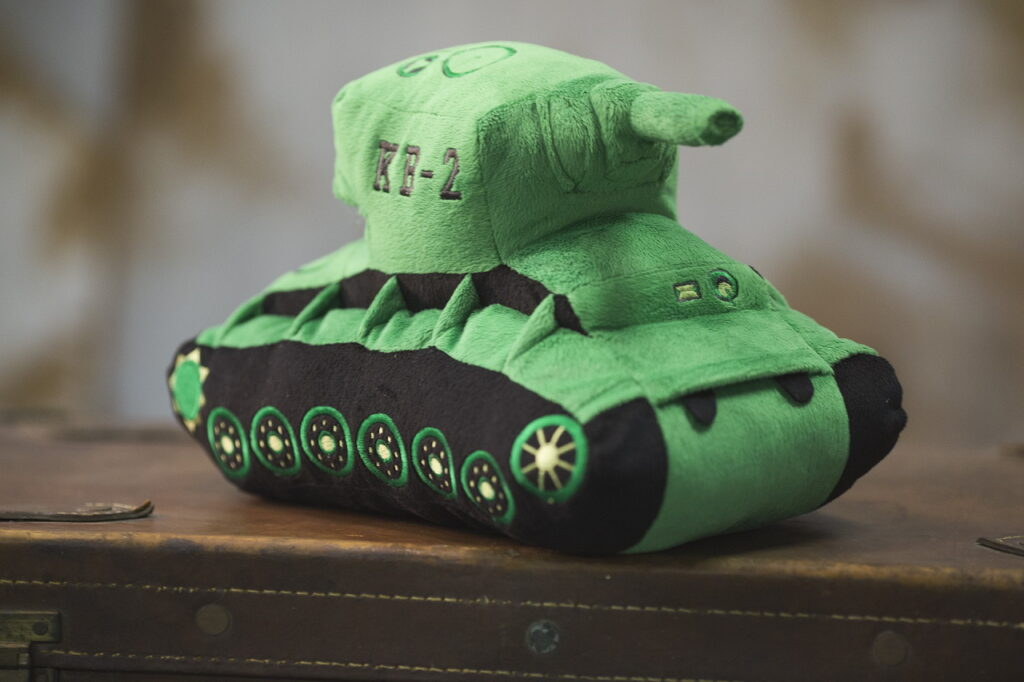 Плюшевый танк