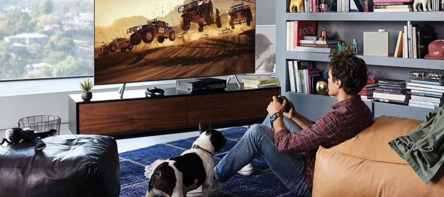 Игровые телевизоры Самсунг