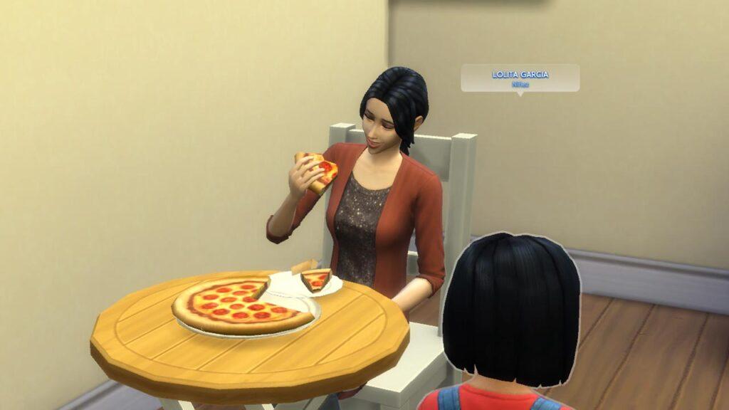 Пицца в СИМС 4